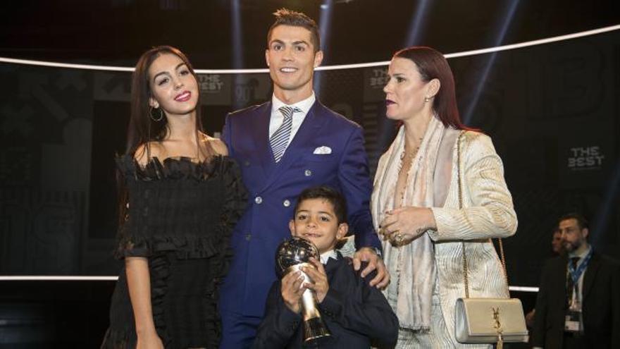 Cristiano Ronaldo, mejor futbolista de 2016