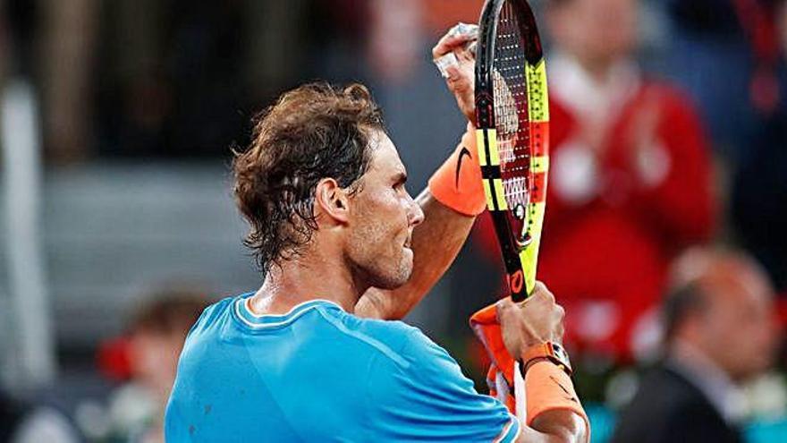 Nadal reencuentra su mejor juego para ganar a Wawrinka