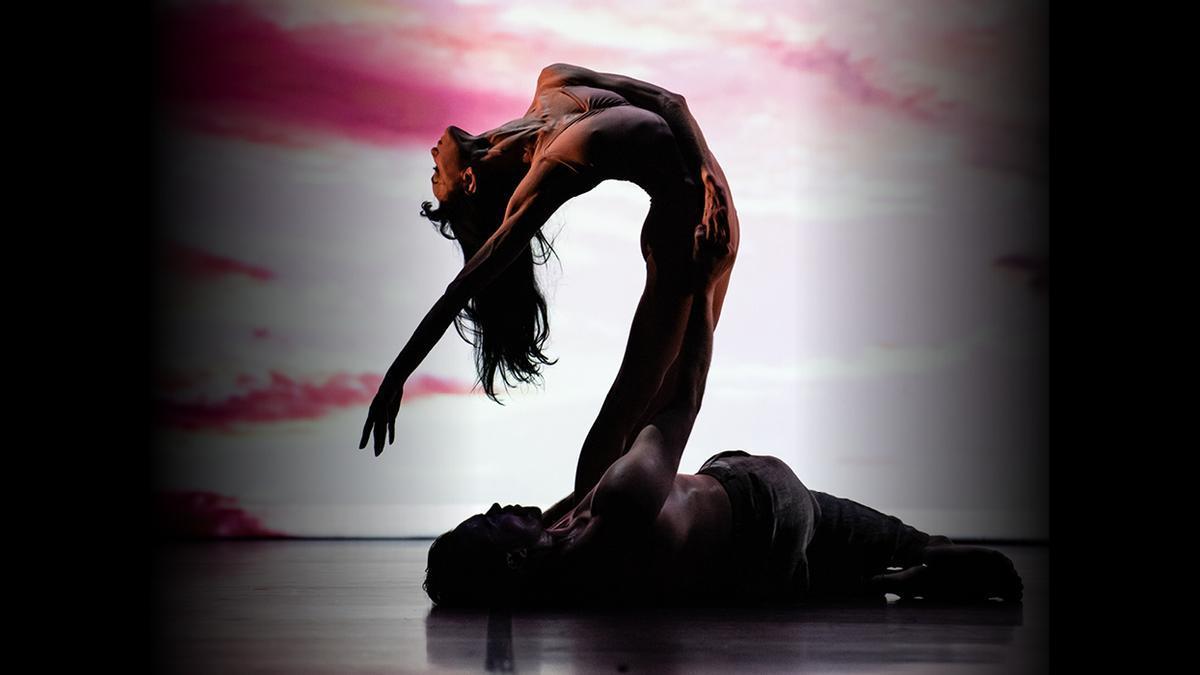 Lucía Lacarra i Matthew Golding a «Ballet under the stars»