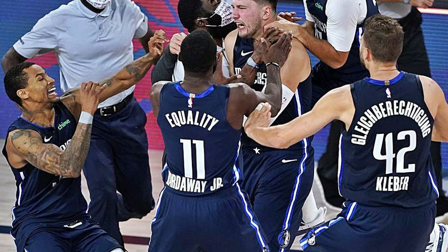 Doncic desata la locura con 43 puntos y el triple ganador ante Clippers