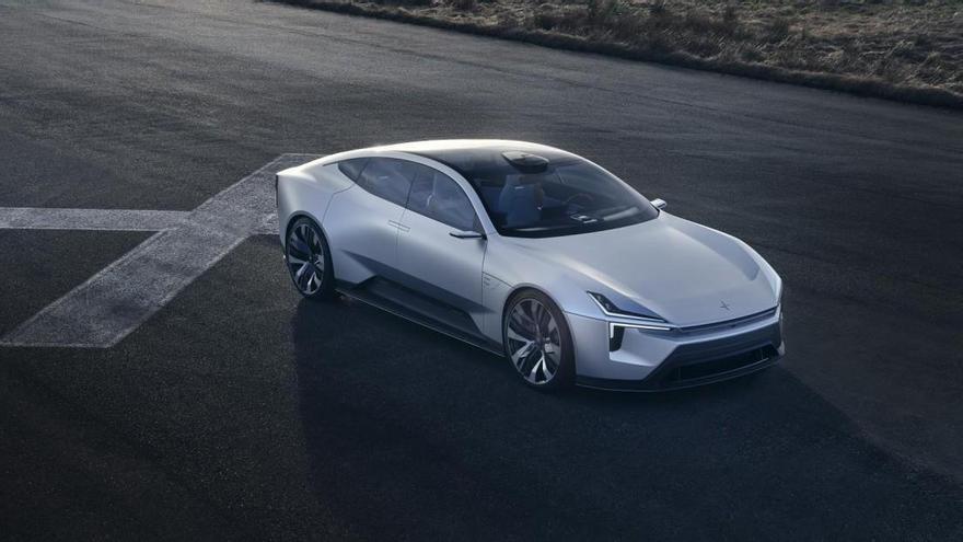 Polestar presenta el prototipo Precept para mostrar cómo serán sus coches del futuro