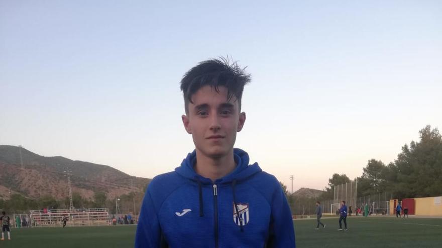 Ginés Sorroche, cadete del Lorca Fútbol Base, firma con el Betis por tres temporadas