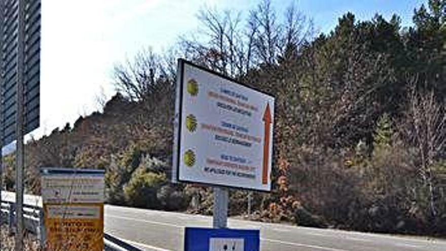 La ruta jacobea a su paso por la comarca de Sanabria.