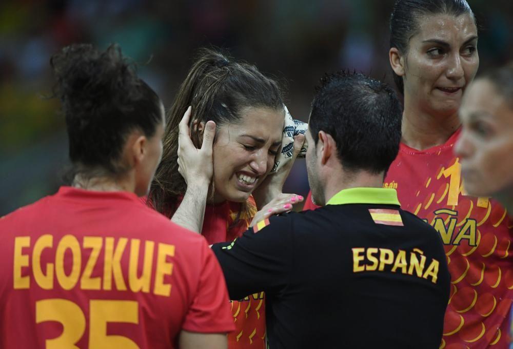 Las 'guerreras' de balonmano fueron bronce en Londres, pero en Río se despidieron en cuartos.