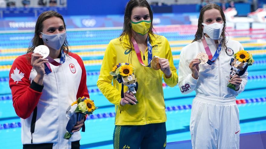 Las nadadoras australianas buscan el trono de oro en Tokio