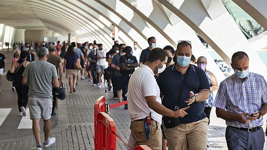 Sanitat registra 2.754 nuevos contagios de coronavirus en la Comunitat Valenciana