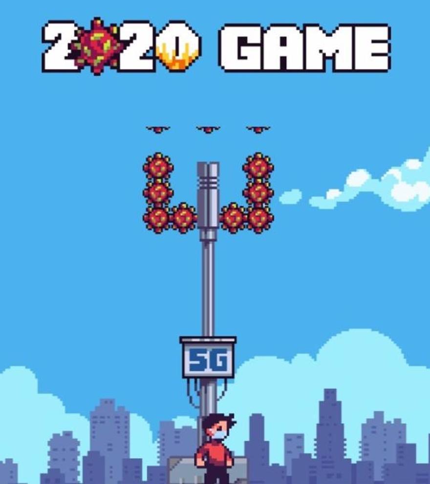 '2020 Game': un videojuego que te lleva por los acontecimientos del año