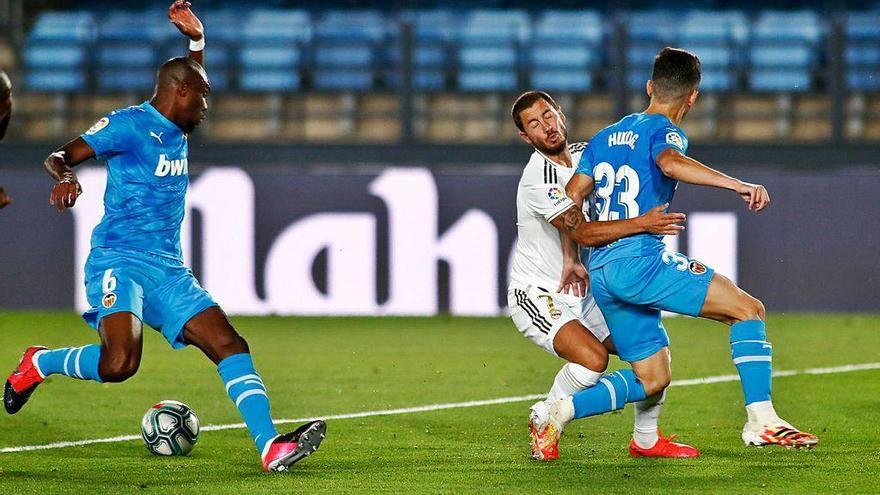 El Madrid mantiene el paso