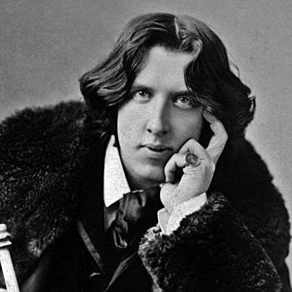 Oscar Wilde (1854-1900).