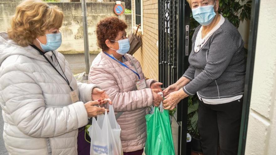 Ayuda vecinal en tiempos de covid
