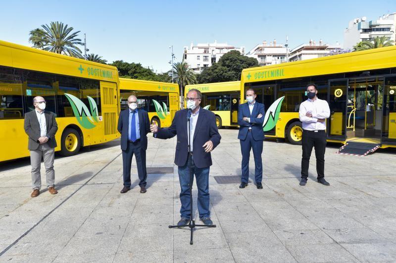 Guaguas Municipales renueva su flota de vehículos