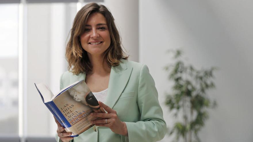 """Sandra Barneda: """"No puedo vivir sin la escritura"""""""