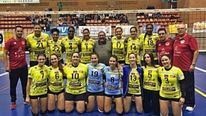 El Sayre está a solo un paso de jugar la Superliga Femenina 2020-2021