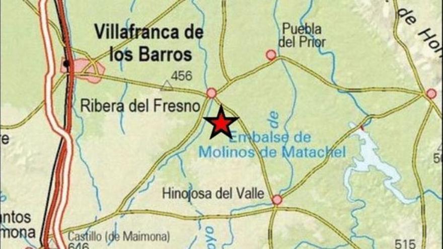 Badajoz registra un seísmo de 3,1 grados Richter