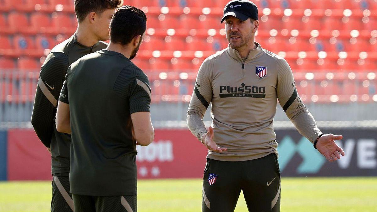 El Atlético repite rival liguero antes de la Champions