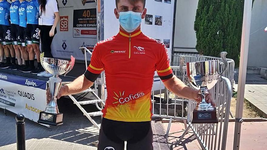 El Bardiano ficha al ciclista de Silla Iker Bonillo  a sus 18 años