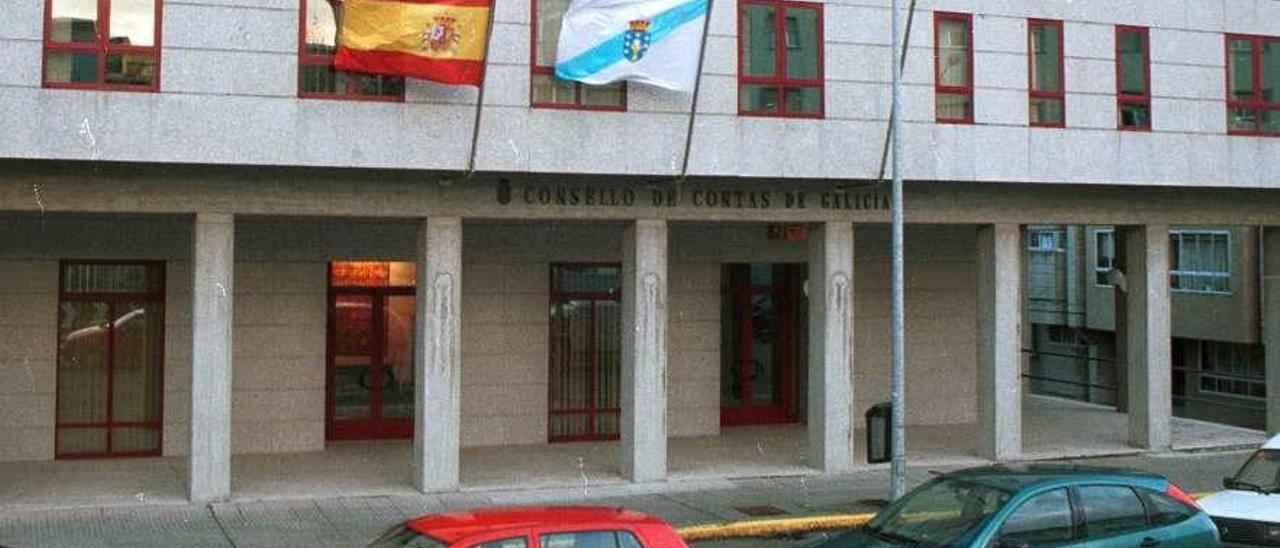 Sede, en Santiago, del Consello de Contas. // Xoán Álvarez