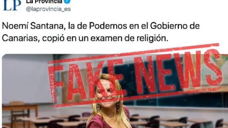 Las 'fake news' sobre LA PROVINCIA que circulan en las redes
