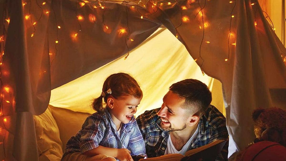 Los cuentos son una buena herramienta para afrontar los miedos infantiles