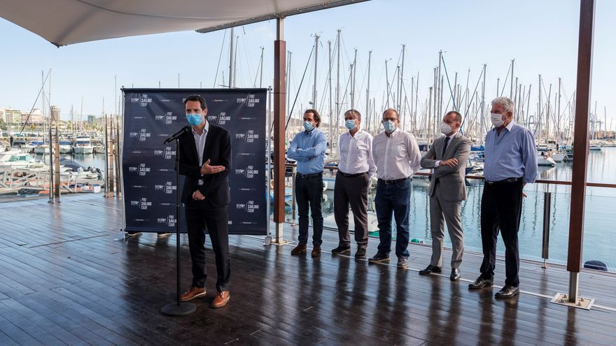 La capital acoge al Pro Sailing Tour