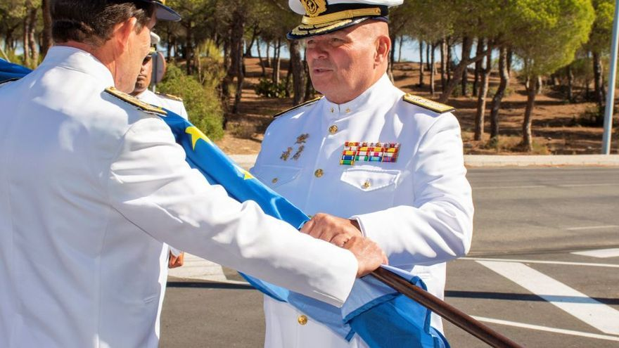 El ibicenco Antonio Planells, nuevo almirante de la Flota española