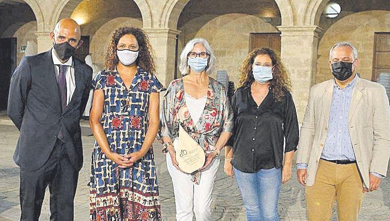 Antonio Sánchez Grao, Catalina Cladera, María Cazorla, Marga Reus y Jaume Alzamora.