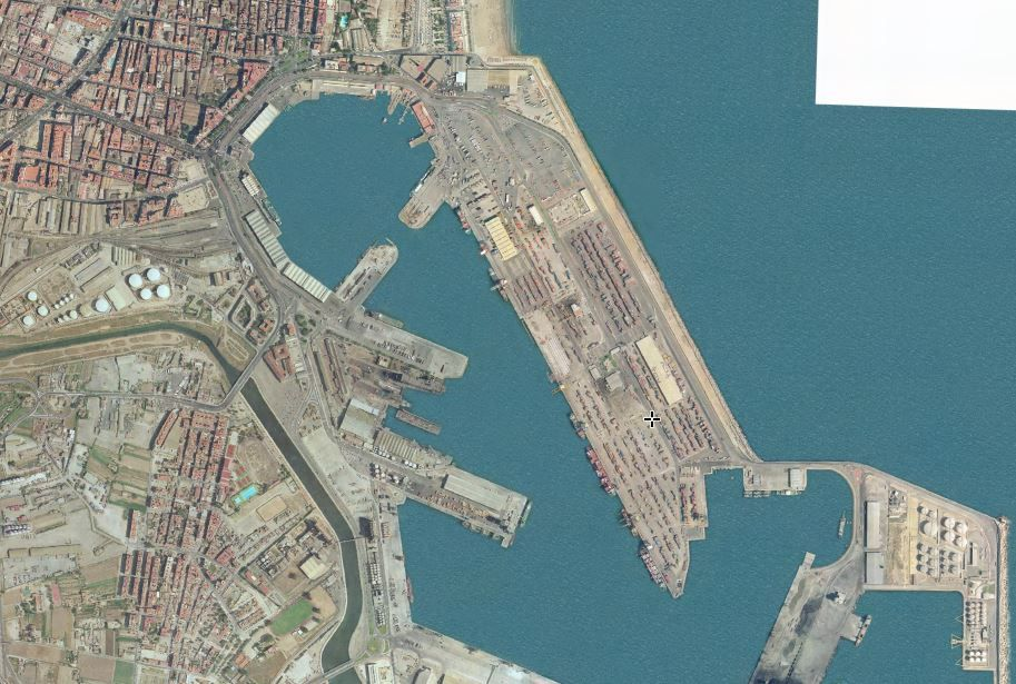El puerto en 2003
