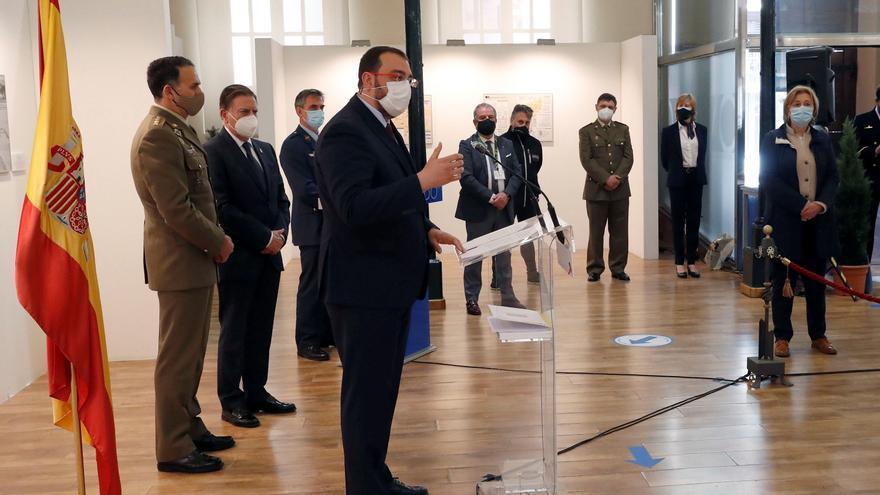 """Barbón pide """"prudencia"""" pese a la """"indudable"""" mejoría de la pandemia en Asturias"""