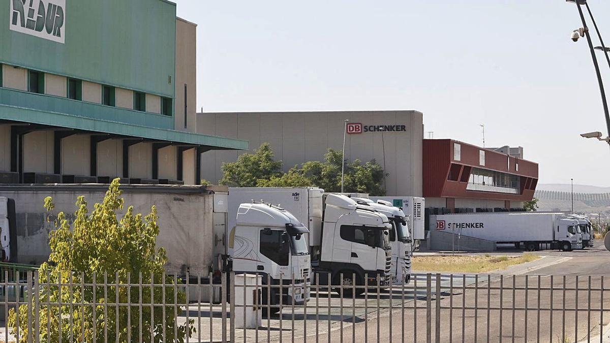 Empresas en el parque logístico de El Higuerón.