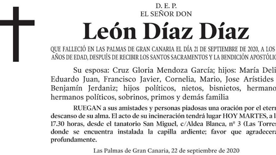 León Díaz Díaz