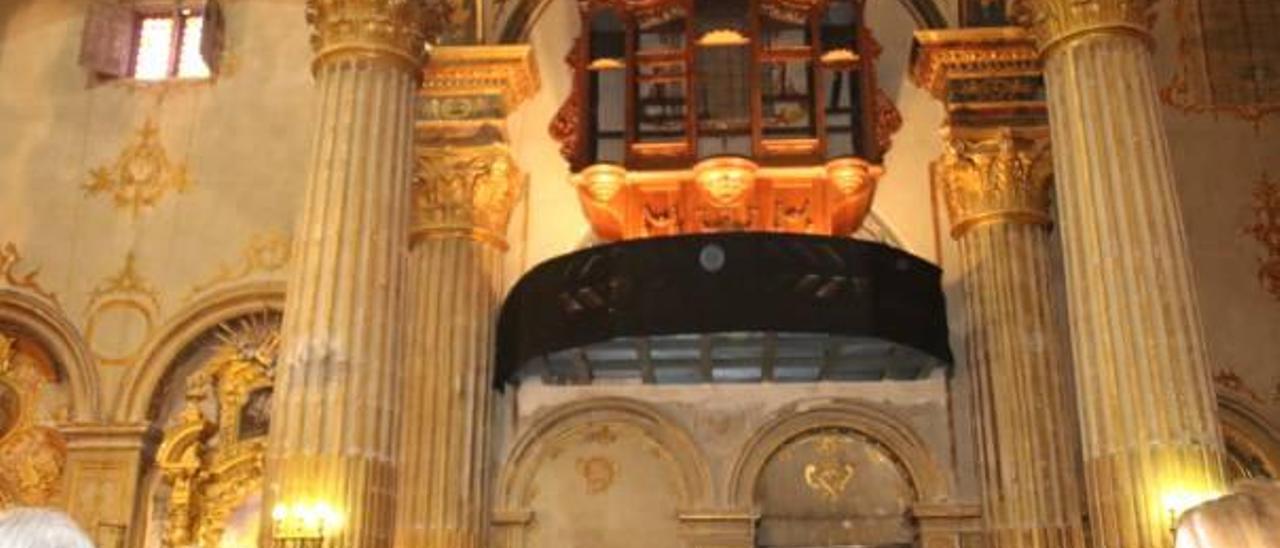 La iglesia arciprestal de San Martín tendrá un órgano de 1865 traído desde Bélgica