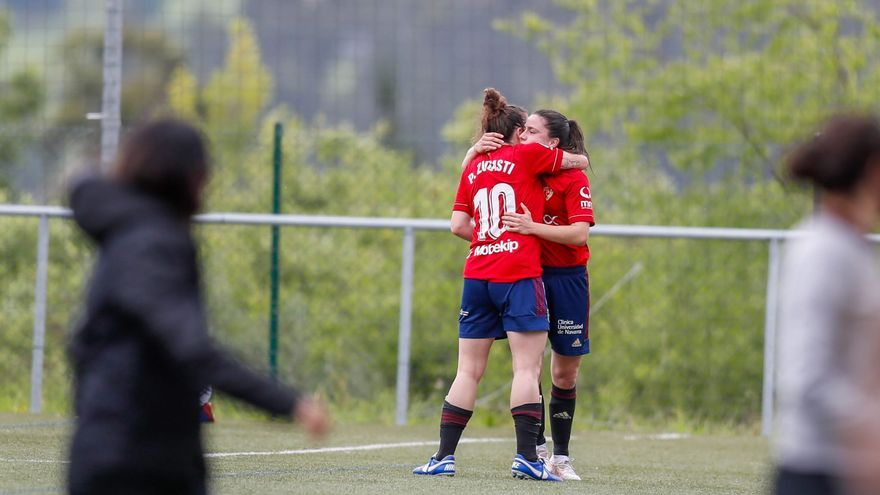 Osasuna aparta de los entrenamientos a la jugadora que vertió un insulto racista a una futbolista del Oviedo