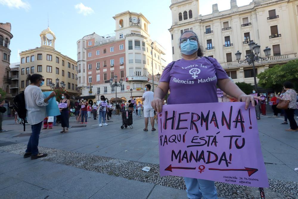 """Concentración en Las Tendillas contra la sentencia de """"La Manada"""""""