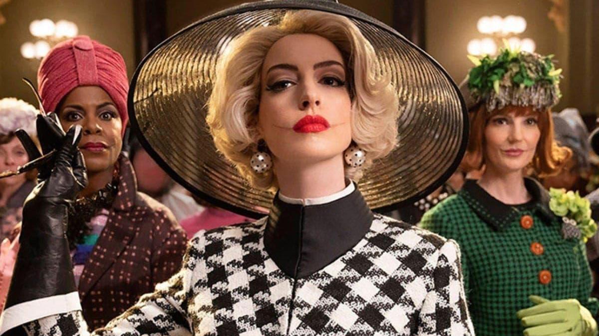 Anne Hathaway, en la nueva adaptación de 'Las Brujas'.