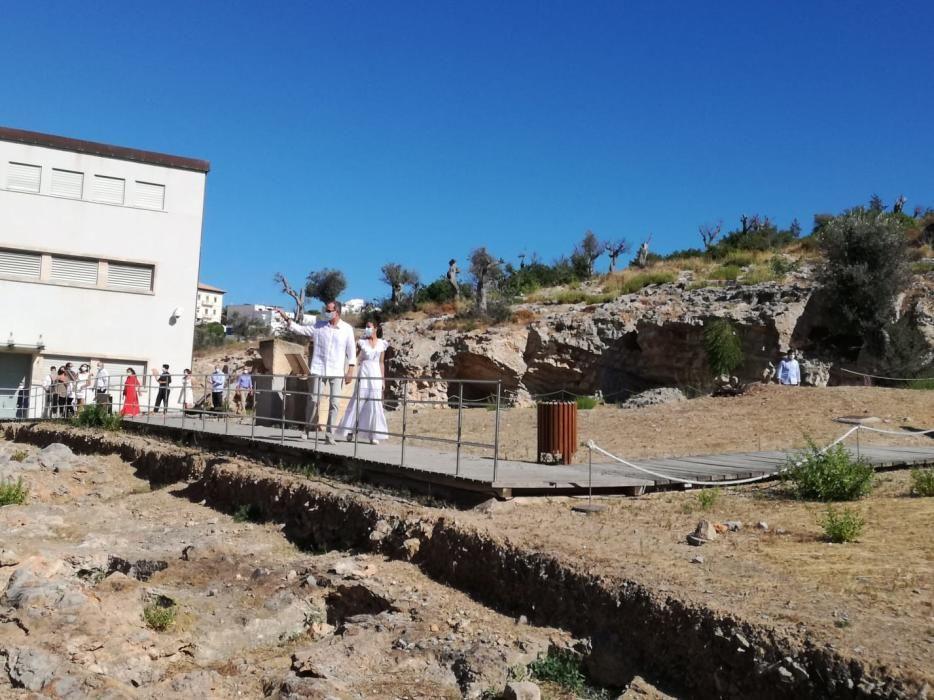 Los Reyes de España visitan la isla de Ibiza