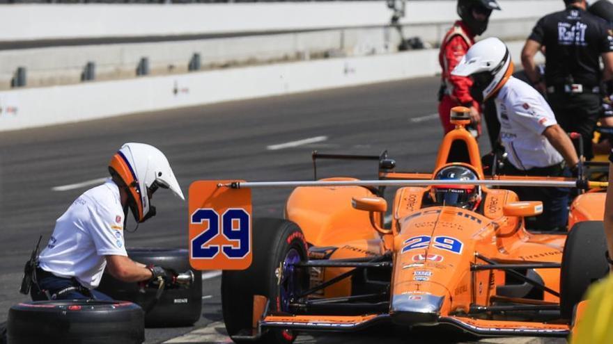 500 Millas de Indianápolis: Alonso concluye los entrenamientos en quinto lugar