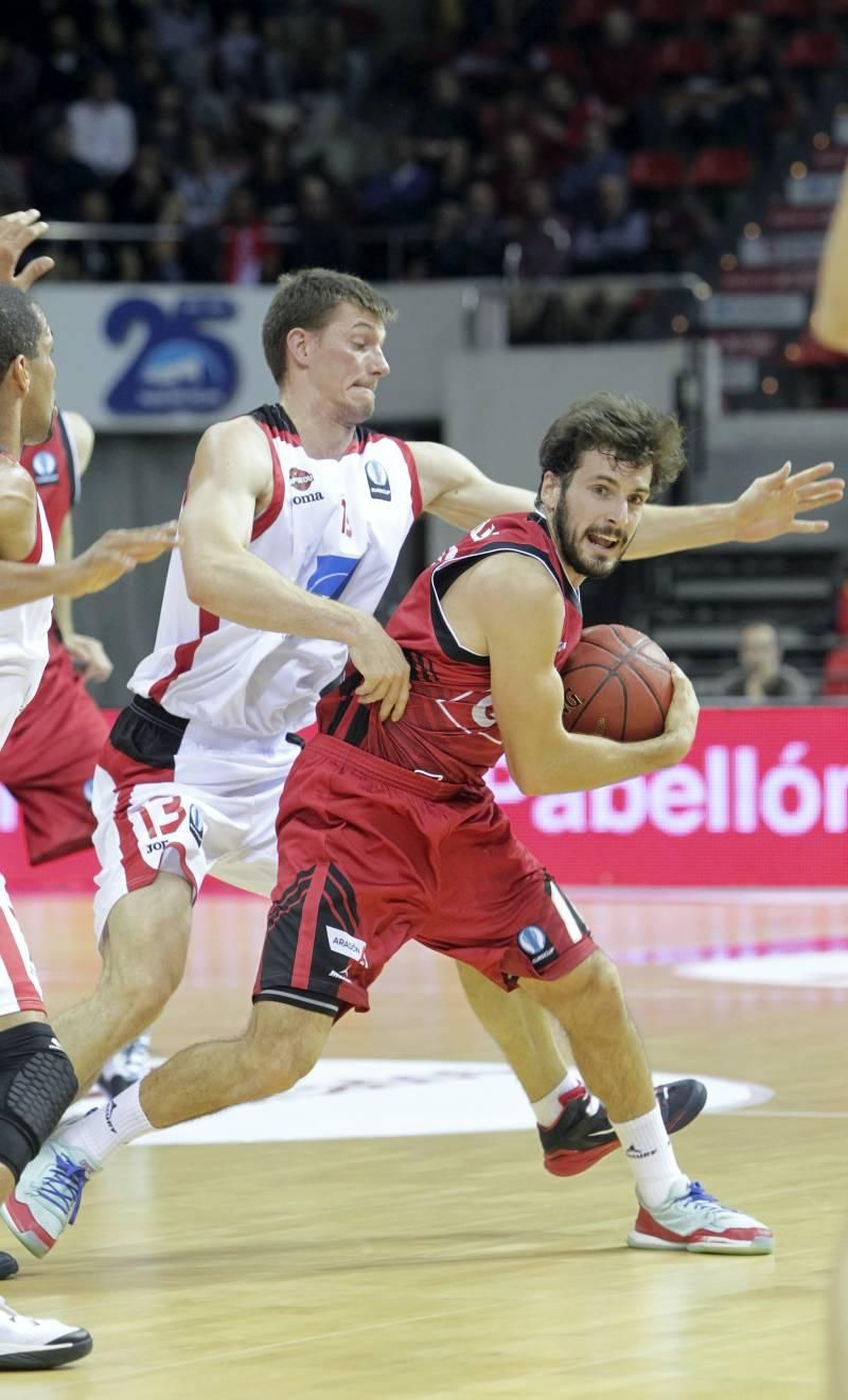 Las imágenes del CAI Zaragoza-Charleroi