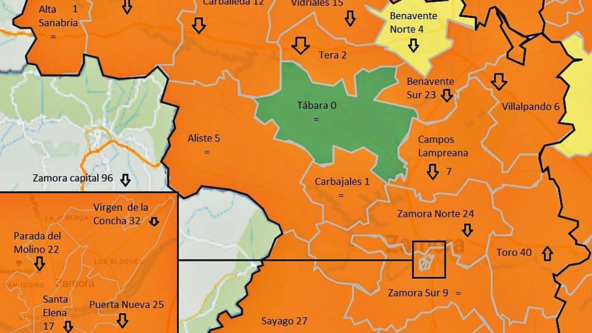 El COVID aumenta su incidencia en Zamora aunque la capital mejora su situación