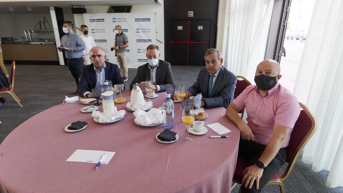 El Desayuno Empresarial de Ximo Puig, en imágenes