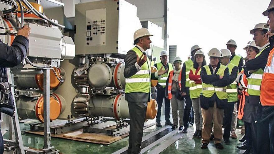 Iberdrola desbloquea la subestación que asegurará el suministro eléctrico en la Foia