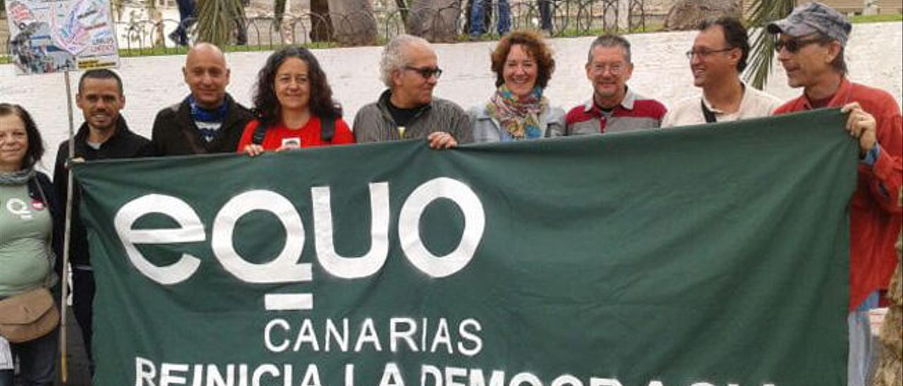 IU, Equo, UP y Los Verdes apuestan por una alianza de izquierdas