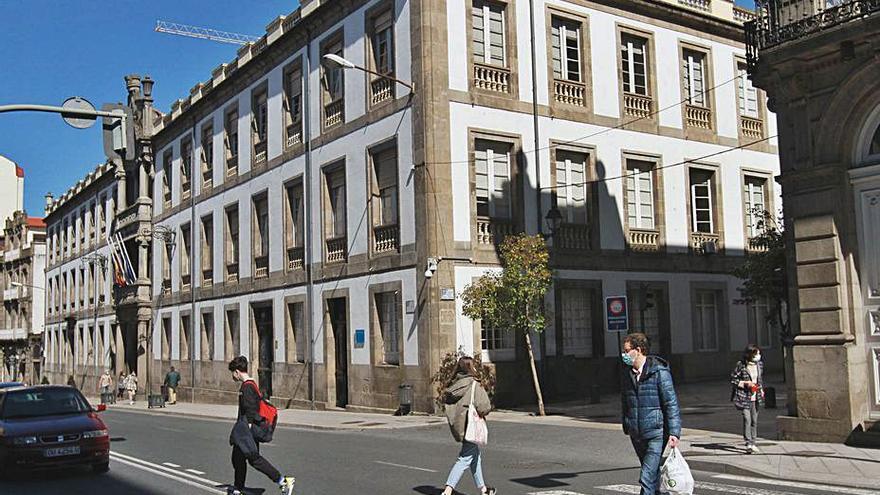 Más de seis empresas se interesan por el hotel balneario en la Diputación de Ourense