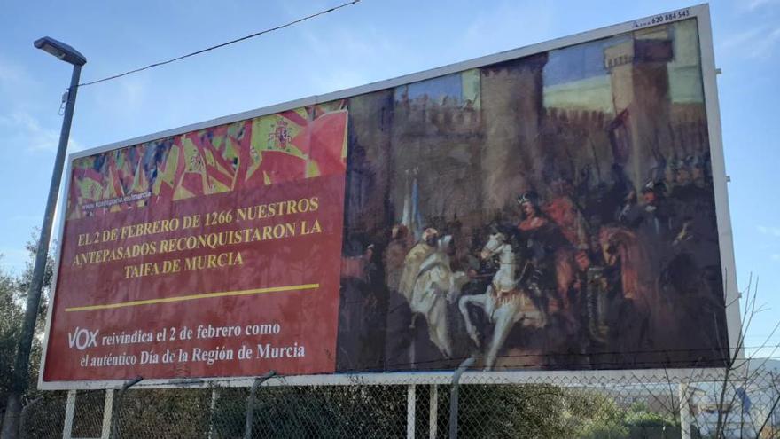 """Vox reivindica el 2 de febrero como el """"auténtico"""" Día de la Región de Murcia"""