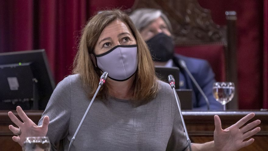 Armengol defiende su gestión  y niega que Balears esté entre las peores en incidencia de coronavirus