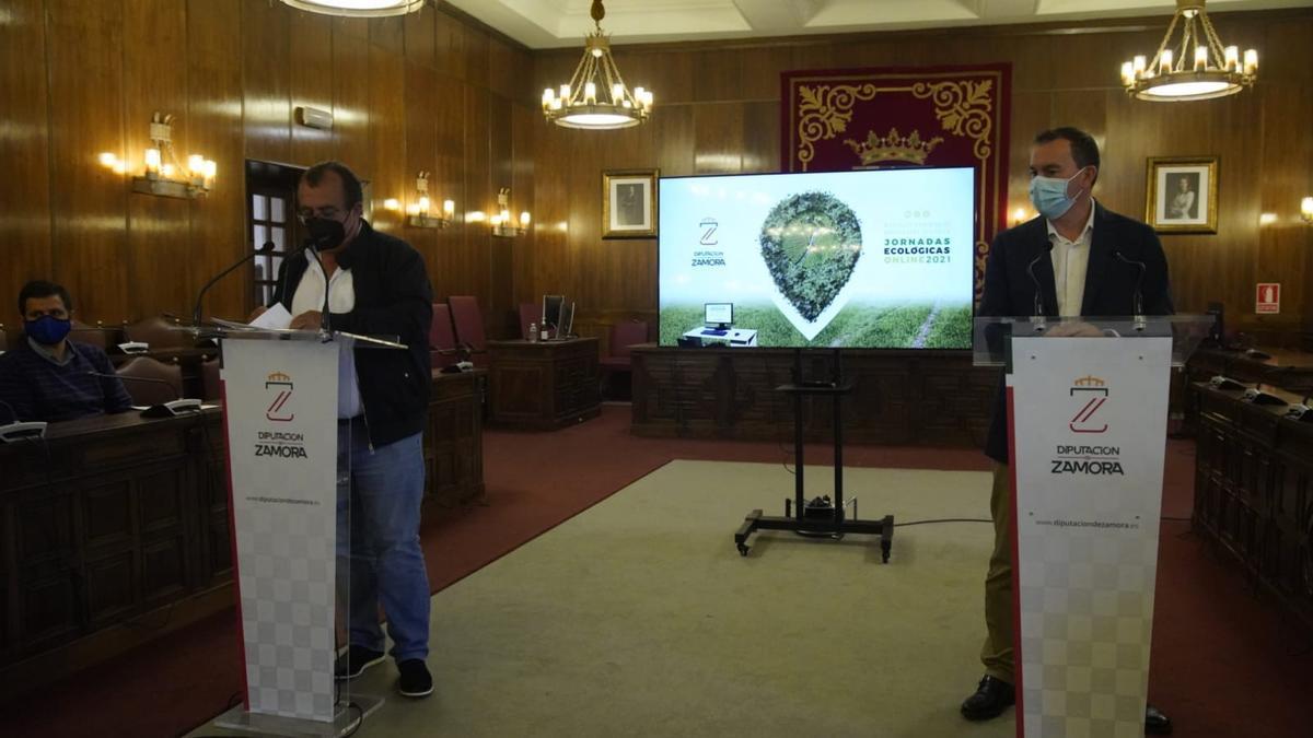 Presentación de las Jornadas Ecológicas Online 2021.