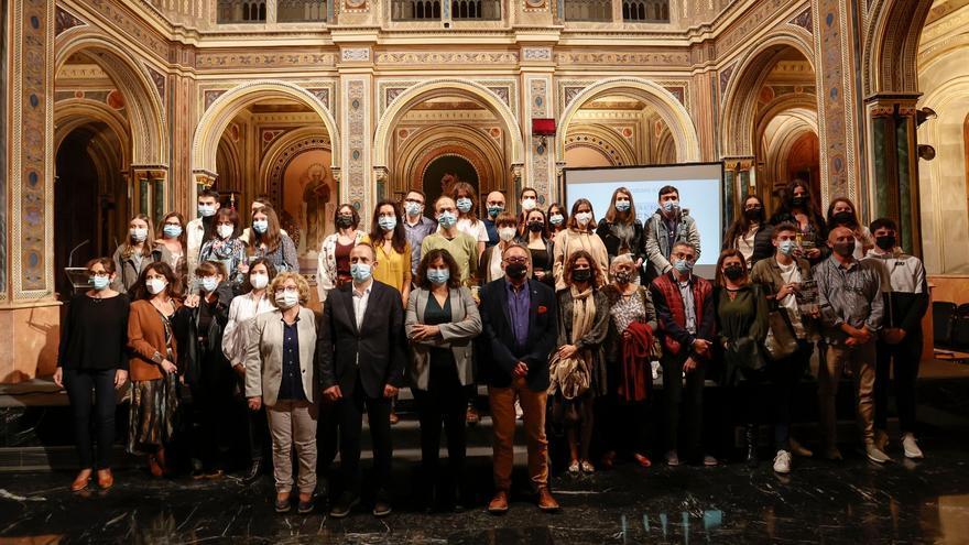 El IES Lluis Simarro de Xàtiva y el colegio La Concepción de Ontinyent, premiados por la Diputación por sus proyectos sobre memoria histórica