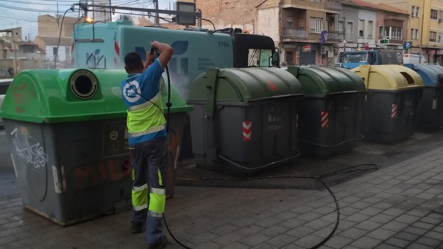 Comienza el plan de limpieza de choque en las pedanías de Murcia