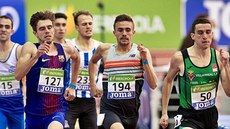 Mínima olímpica de Javier Mirón en 800 metros