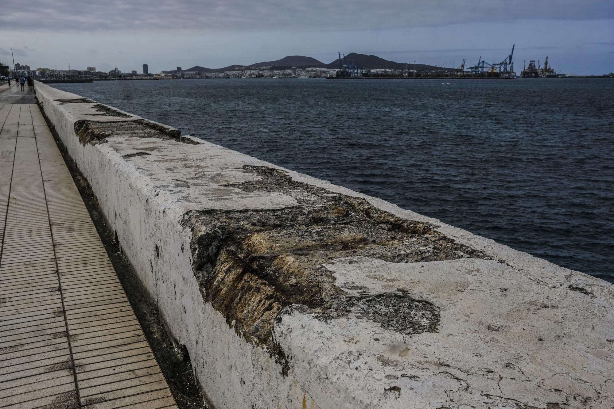 Obras en la Avenida Marítima