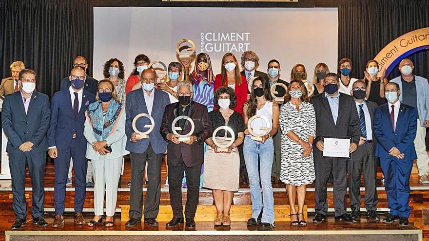 La Fundació Climent Guitart fa l'entrega dels premis 2020 i 2021